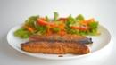 Рыба лосось семга форель запеченная в духовке Быстро просто вкусно