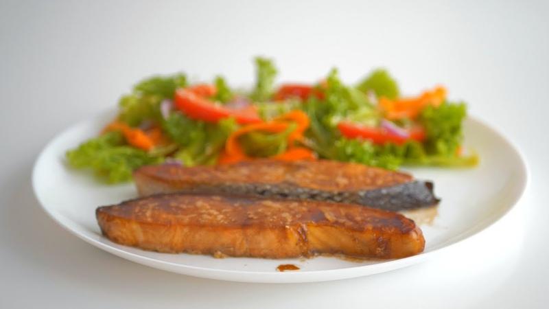 Рыба (лосось, семга, форель), запеченная в духовке. Быстро, просто, вкусно