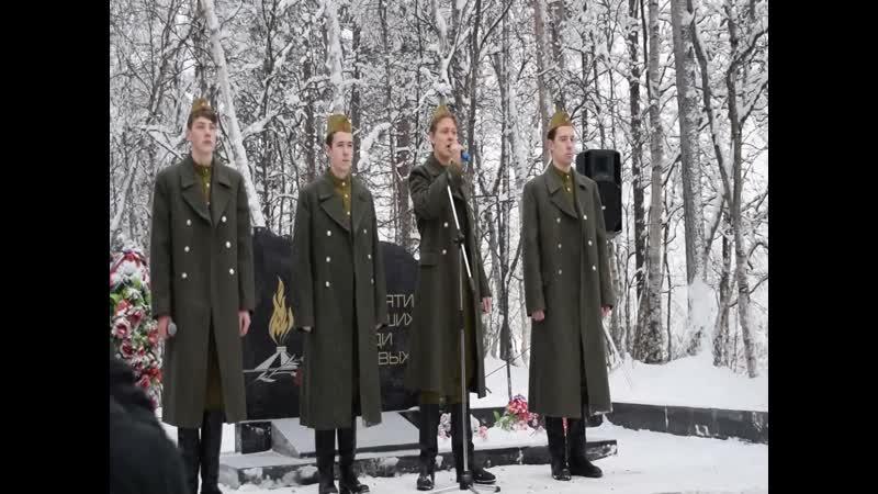 Афган. Видео Тамары Поповой.