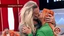Никита Джигурда и Марина Анисина снова вместе: страстный поцелуй прямо в студии.