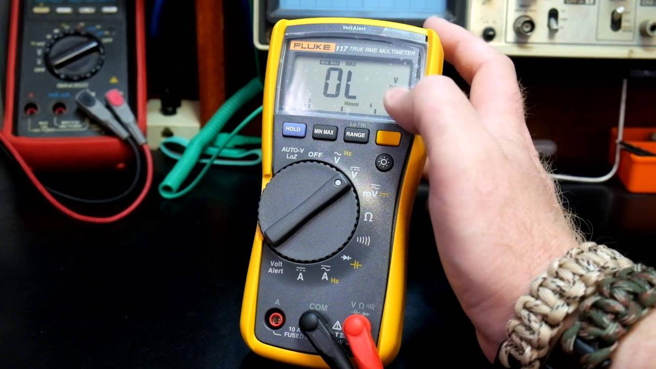 измерение силы переменного тока мультиметром