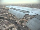 Iran Aseman B727 200 Landing at Dubai Window View