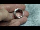 Кольцо в белом золоте на 9.5 грамм