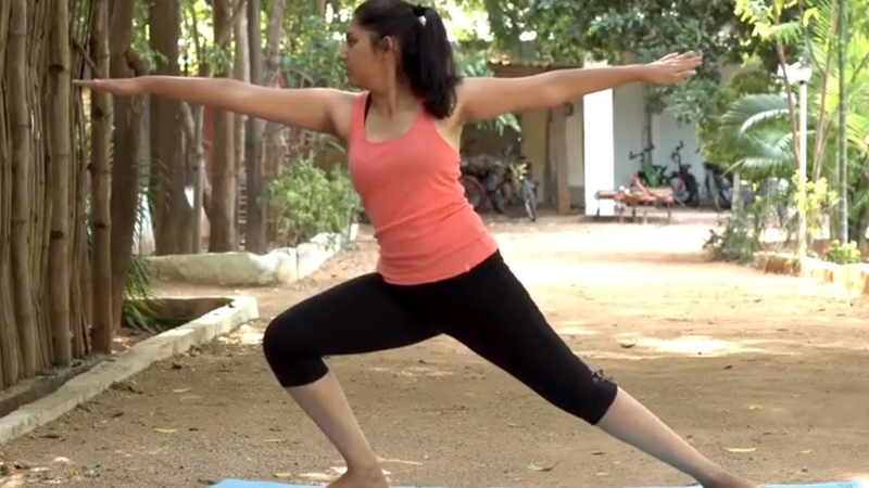 3 Simple Yoga Poses to Strengthen Shoulders and Spine - Body Stretch Power Yoga   Fit a Bit TV