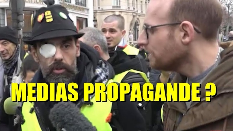 🔥Les médias et les journalistes Français sont-ils fiables 🔥 micro-trottoir GILETS JAUNES