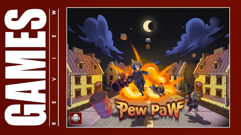 Pew Paw - Zombie survival (Android) Gameplay ᴴᴰ