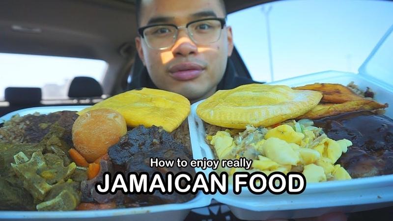 How to really enjoy JAMAICAN FOOD *MUKBANG