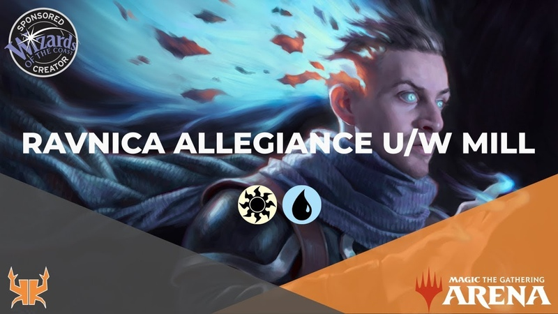 Milling Other Streamers! | Ravnica Allegiance Early Access Event [MTG Arena]