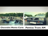 Chevrolet Monte Carlo vs Pontiac Firebird Trans Am. Rwdrags 2018