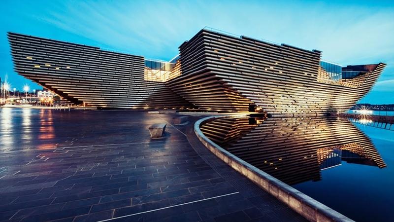 V A Dundee Landmark design museum opens in Scotland
