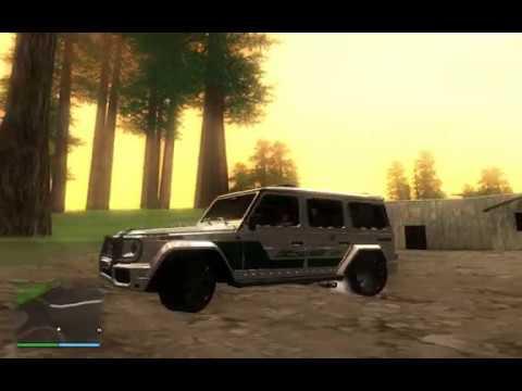 Обзор мода Brabus G 700 Widestar Police (W463) 2013 в GTA San Andreas