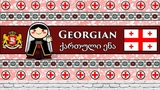 The Sound of the Georgian language (Numbers, Greetings &amp Sample Text)