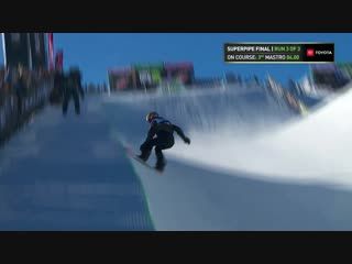 Maddie Mastro Second Place Run From Womens Modified Pipe Finals at 2018 Dew Tour