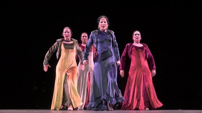 Avance del espectáculo Tauromagia. Coreografía para la obra de Manolo Sanlúcar, de Mercedes Ruiz