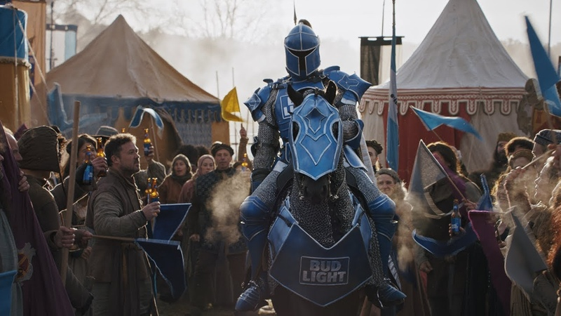 Bud Light x Game of Thrones Super Bowl Commercial Joust