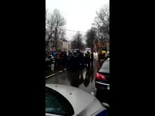 Задержание муниципальных депутатов на Цандера, 7