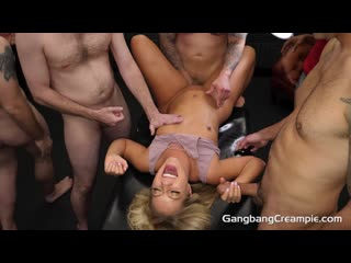 Candice dare - gangbang creampie 204 [blowjobs, creampie, cum swallowing, deepthroat, gangbang, interracial, masturbation]