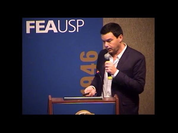 Debate na USP com Thomas Piketty, Paulo Guedes e André Lara Resende (2014)
