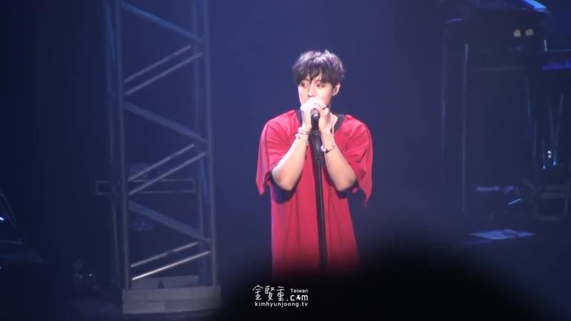 20180927 Wait For Me『KIM HYUN JOONG JAPAN TOUR 2018 一緒に Take my hand』👉 市川市文化会館 大ホール