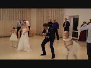 Наш первый танец! Мы и наши детки! Не судите строго! ))