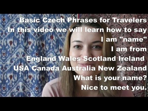 Basic Czech for tourist, part 4, useful, czech, phrases, Prague, pronunciation, how to say, in czech