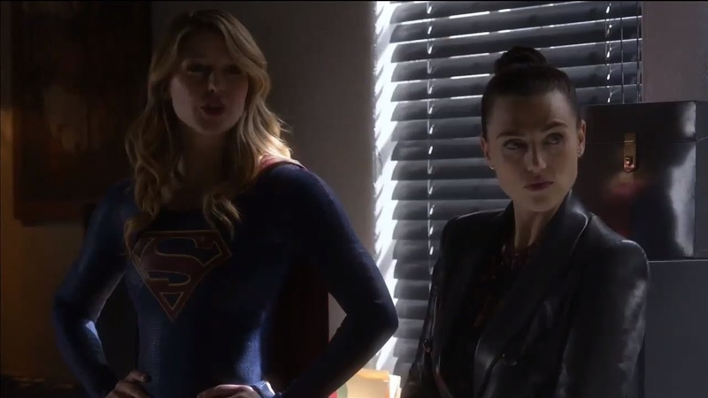 Supergirl 4x18 Lena and kara scene part 2