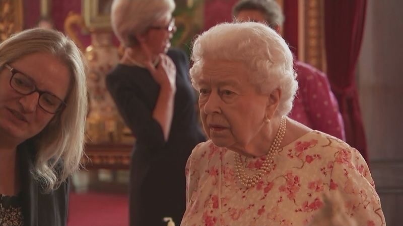 The Queen opens new exhibition at Buckingham Palace
