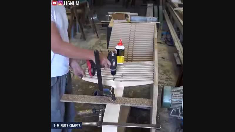 Удобный деревянный лежак своими руками - vk.commy.dacha