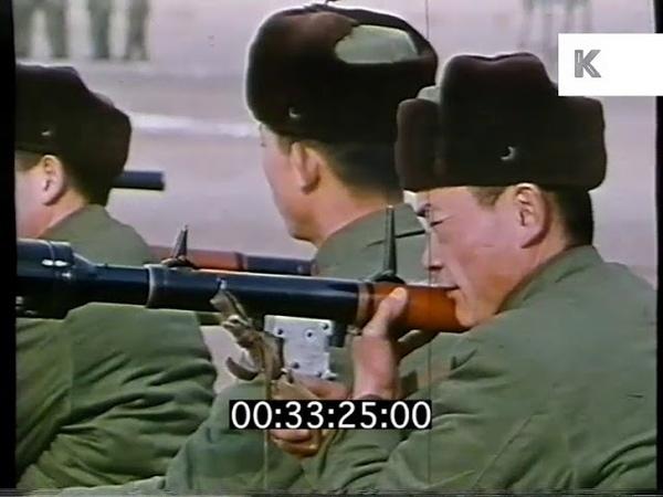 Military Training, PLA, 1960s, 1970s China