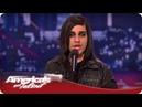 Make-Up Artist Has a Surprising Voice - America's Got Talent Season 7 - Andrew De Leon Audition