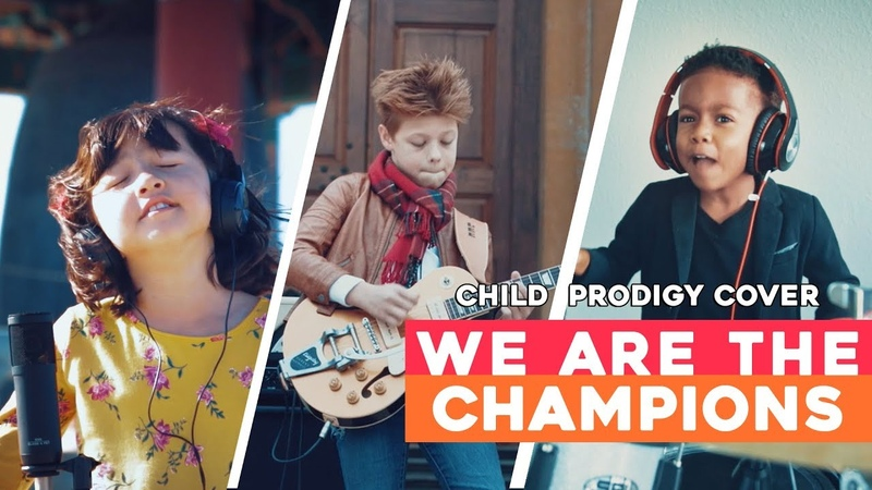 Queen Tribute - We Are The Champions - Child Prodigy Cover | Maati Baani
