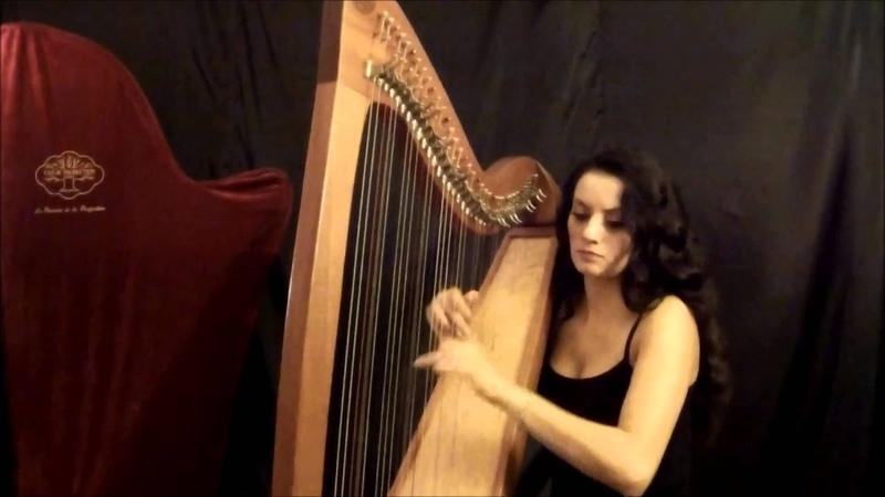 Glenlivet (live) - Traditional Scottish Music - Harp Duygu Aydogan