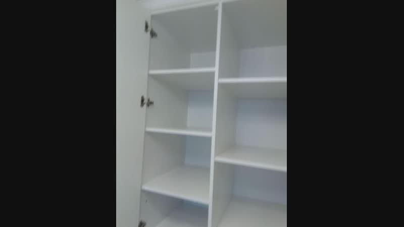 шкаф корпусный фасады эмаль