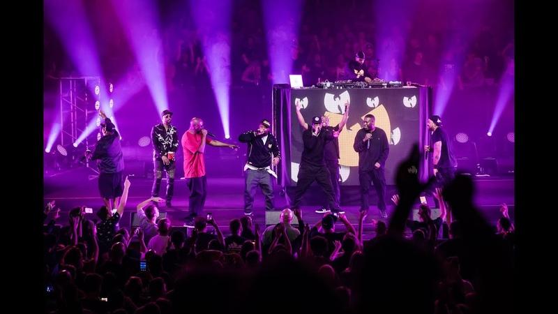 Wu-Tang Clan выступили в Сиднее с треком C.R.E.A.M., в рамках тура в честь 25-летия альбома «Enter The Wu-Tang (36 Chambers)». (8 декабря 2018 г.) (видео)