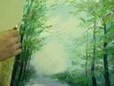 Учимся рисовать деревья и листву