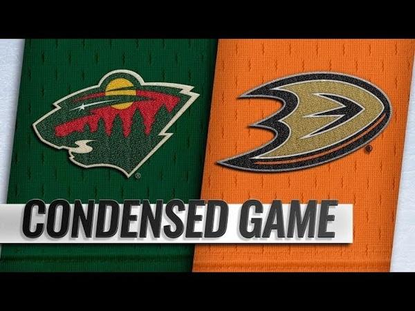 Minnesota Wild vs Anaheim Ducks Nov 09 2018