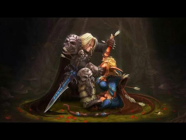 АРТЕС VS СИЛЬВАНА WarCraft 3 Region of Chaos Королевство Эльфов 3 глава