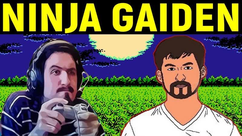 [Necros] Некрос и Дядя Женя играют в Ninja Gaiden на Денди