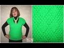 Вязание женского жилета спицами