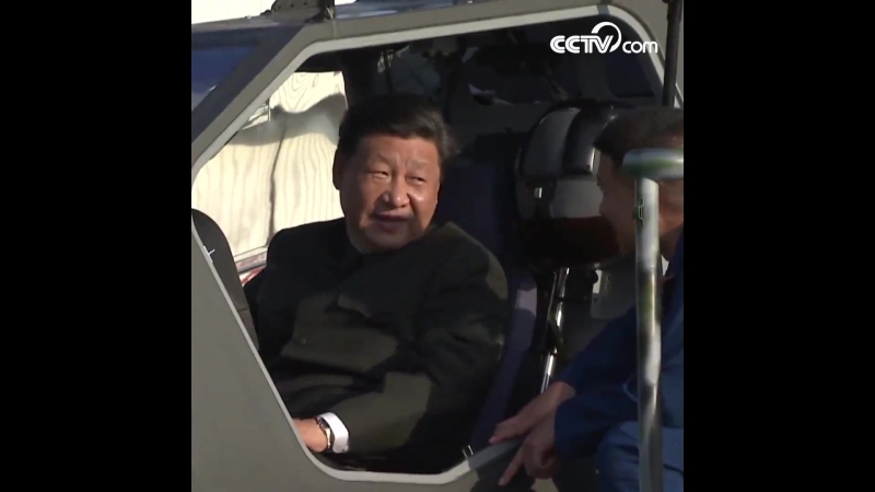 Си Цзиньпин совершил инспекцию 79-й армейской группы НОАК