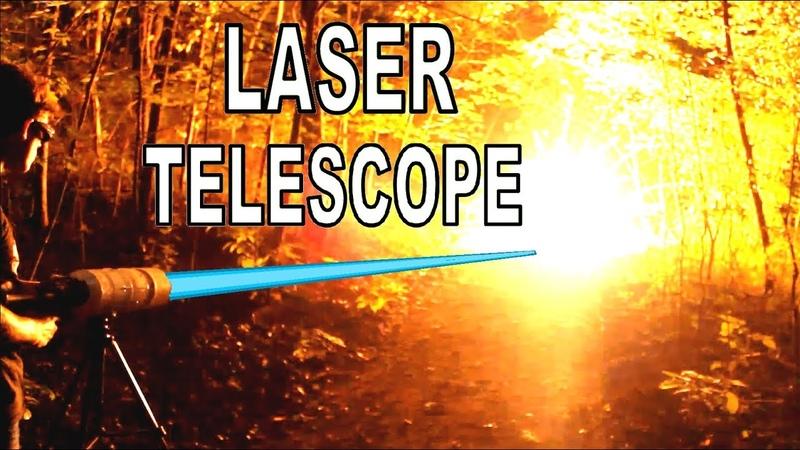 I built a Laser Telescope Blaster!!