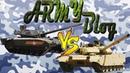 Танк Армата Т 14 VS Танк VT 4 Россия против Китая Battle
