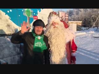 Денис Юченков принимает эстафету добра в Вологде