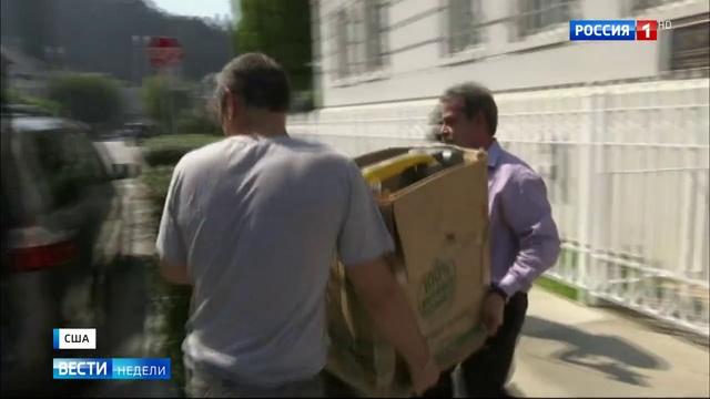 Вести недели Эфир от 03 09 2017 Захват диппредставительств российские дипломаты оставили американ