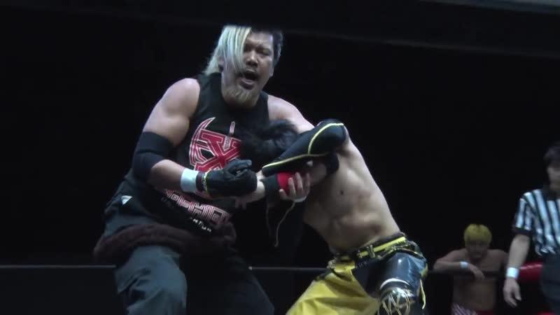 Akiyori Takizawa, Ryota Nakatsu vs. Minoru Fujita, Ryuichi Sekine (BASARA - Vajra 80 ~ Osaka's Team the World)