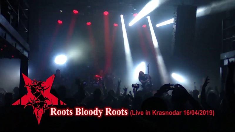 Sepultura Roots Bloody Roots Machine Messiah Tour 2019