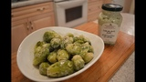 How to Cook Brussel Sprouts with Lemon Herb Aioli Made in Niagara with Kimberly