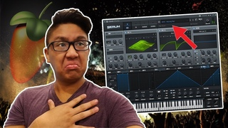 THAT SOUNDS FILTHY! MAKING AN EDM TRAP BEAT IN FL STUDIO!