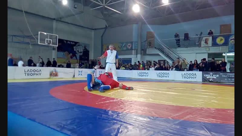 Чемпионат Калининградской области по боевому самбо среди мужчин и женщин