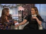 SECOND ACT Funny Cast Interviews- Jennifer Lopez, Vanessa Hudgens, Milo Ventimiglia, Leah Remini